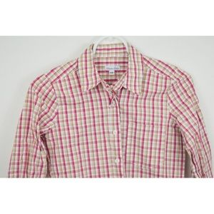 STEVEN ALAN XS Long Sleeve Button Up Plaid
